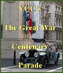 VCC's The Great War Centenary Parade in London