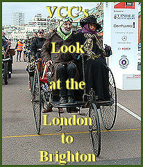 The VCC's look at the RM Sotherby's London to Brighton Veteran Car Run